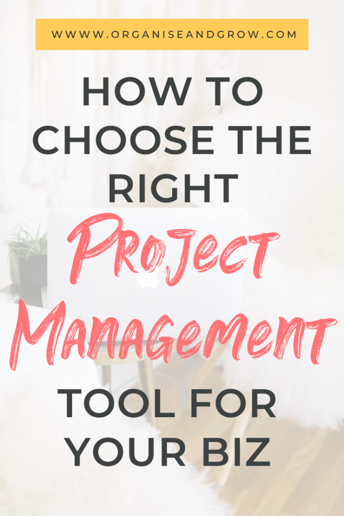 How to Choose the Right Project Management Tool